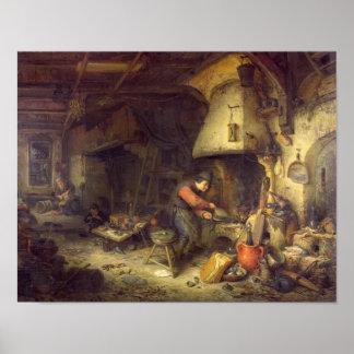 Un alquimista, 1611 póster