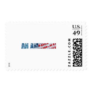 Un americano sellos