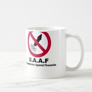 Un-Americans Against  Fireworks Coffee Mug