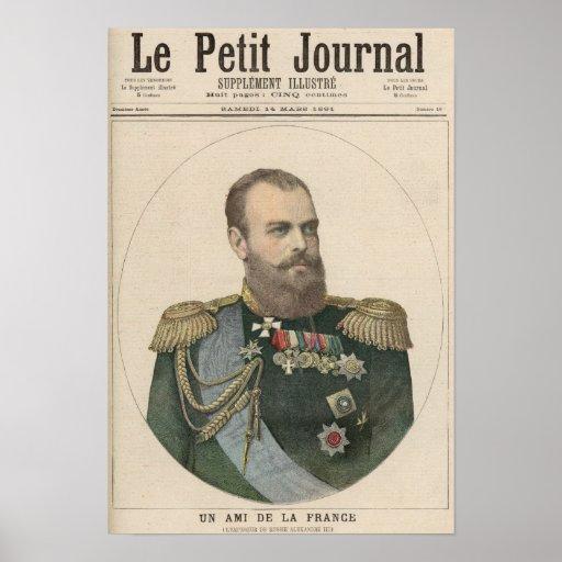 Un amigo de Francia Poster