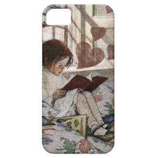 Un amor de la lectura iPhone 5 Case-Mate cobertura