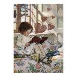 Un amor de la lectura invitación 12,7 x 17,8 cm