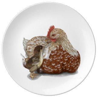 Un amor de madre platos de cerámica