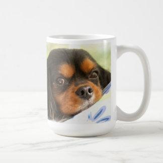 Un amor no tiene gusto de ningún otro perro de agu taza básica blanca