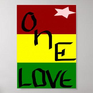Un amor póster