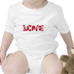 Un amor (r) camiseta