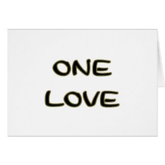 Un amor tarjeta de felicitación