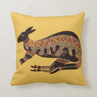 Un amortiguador de la almohada del canguro