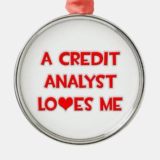 Un analista de crédito me ama ornamentos de reyes