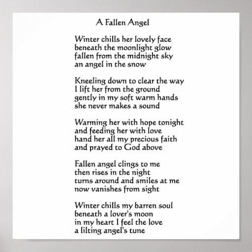 Un ángel caido posters