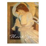Un ángel de Burne-Jones que juega una chirimia Tarjeta Postal