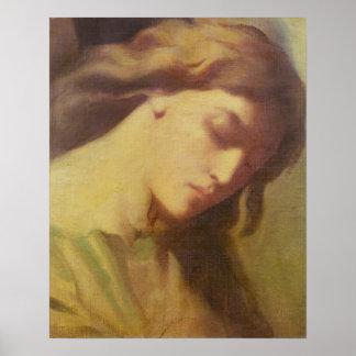 Un ángel, estudio para el monte de los Olivos, 184 Poster
