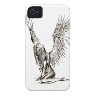 Un ángel iPhone 4 funda