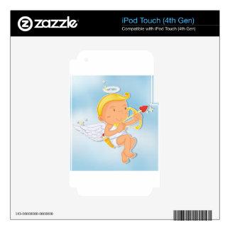 un ángel iPod touch 4G skin
