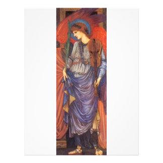 Un ángel musical tarjetas informativas