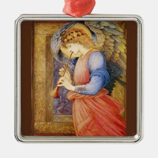Un ángel que juega una chirimia ornaments para arbol de navidad