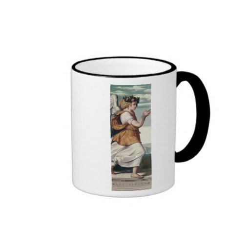 Un ángel tazas de café