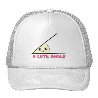 Un ángulo agudo lindo gorras