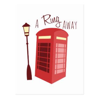 Un anillo lejos postal