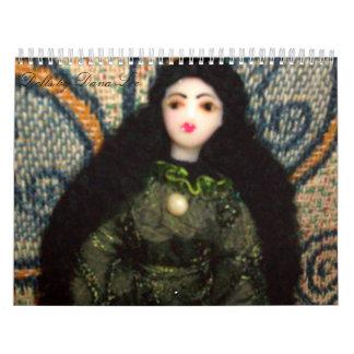Un año de calendario de las muñecas