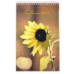 Un año de calendario de los girasoles 2013