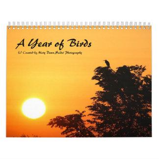 Un año de calendario de los pájaros 2013