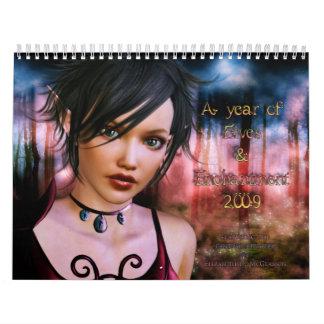 Un año de duendes y de encantamiento calendario