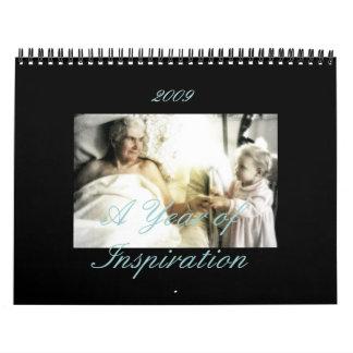 Un año de inspiración, 2009 calendario