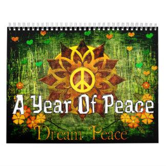 Un año de paz calendario