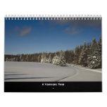 Un año de Vermont Calendarios