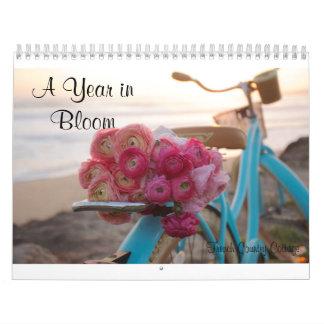 Un año en calendario de la floración