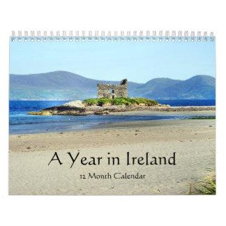 Un año en el calendario de Irlanda - año del