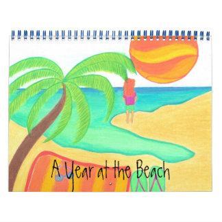 Un año en el calendario de la playa