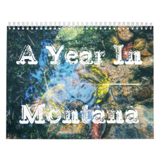Un año en el calendario de Montana
