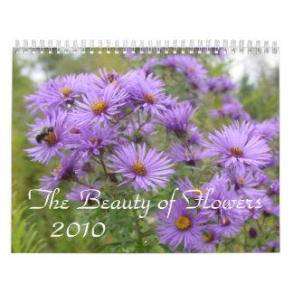 Un año en flores calendarios de pared