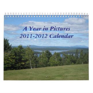Un año en imágenes calendario