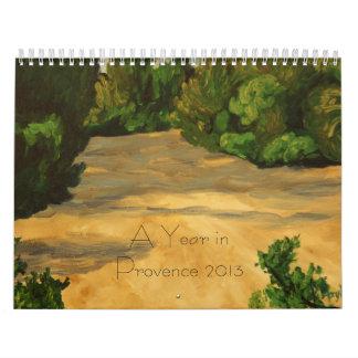 Un año en Provence 2013 Calendario