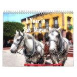 Un año en San Miguel de Allende, México, Calendarios De Pared