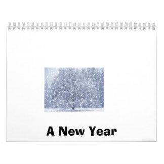 Un Año Nuevo Calendario De Pared