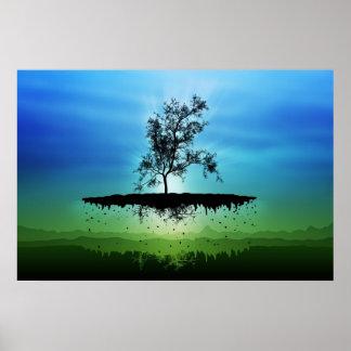 Un árbol 2 del vuelo poster