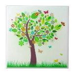 Un árbol de la mariposa tejas