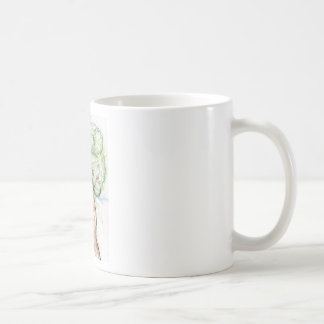 Un árbol de mi propia imaginación taza de café
