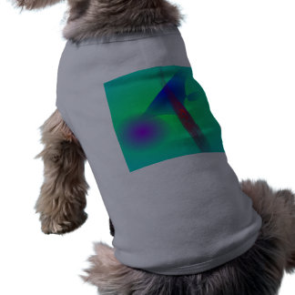 Un árbol de pino camisetas de perrito