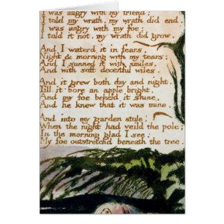 Un árbol del veneno, de canciones de la experienci tarjeta de felicitación