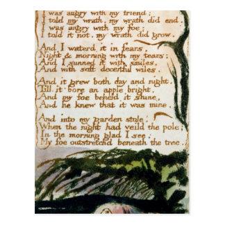Un árbol del veneno de canciones de la experienci postales