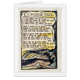 """""""Un árbol del veneno"""", platea 50 (Bentley 49) de ' Tarjeta De Felicitación"""