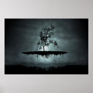 Un árbol del vuelo póster
