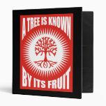 Un árbol es sabido por su fruta