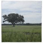 Un árbol servilleta imprimida