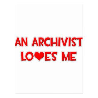 Un archivista me ama postales